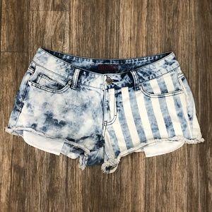 Vintage Patriotic Jean Shorts